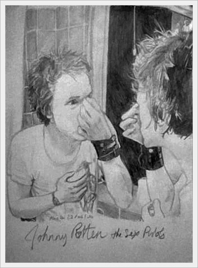 Johnny Rotten by TheBlackParade